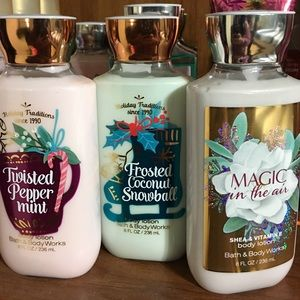 Bath and body works ! Body lotion