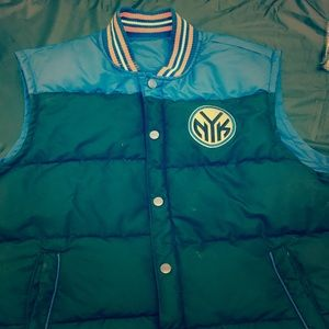 Reversible Knicks Vest