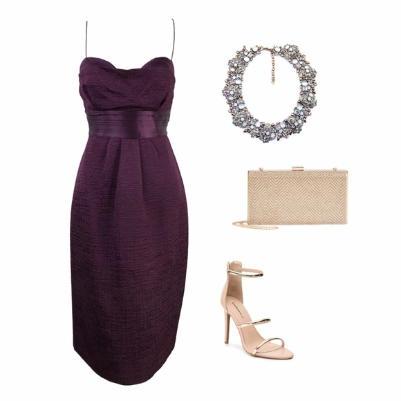 Elie Tahari Dresses & Skirts - Elie Tahari Grape (Purple) Julianna Strappy Dress