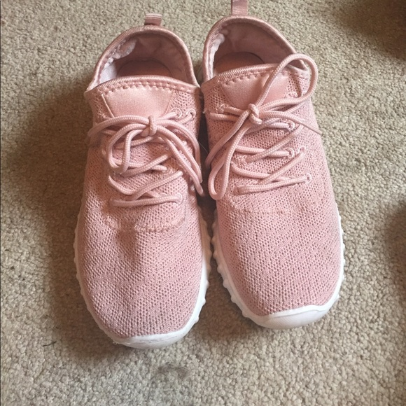 Yeezy Look Alike Sneakers Blush Pink