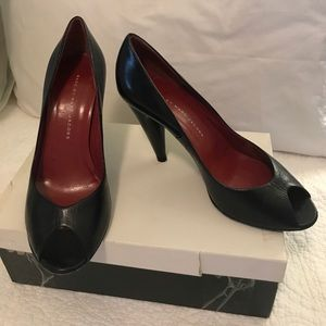 Marc by Marc Jacobs Black people toe heels 38.5