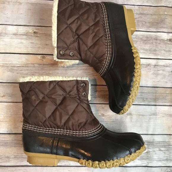 1d6b631dca9 L.L. Bean Shoes -  FRIDAY SALE  L.L Bean Fuzzy Duck Boots