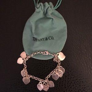 Tiffany & Co. Silver Heart Bracelet