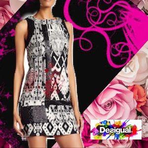 Desigual Embellished Abeth Sleeveless Dress 14🌹🌹