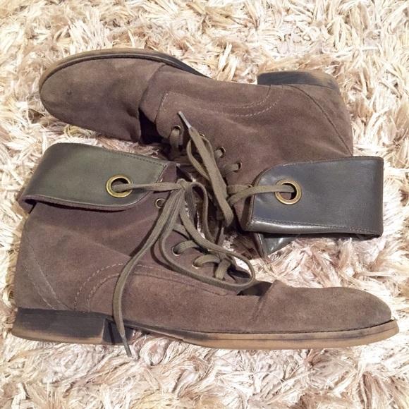 6d56a20a1e43c Nine West Vintage America Collection Suede Boots