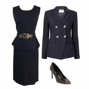 Alfani Dresses - Alfani Black Belted Dress