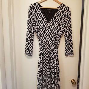 INC wrap dress
