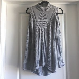 Jessica Simpson Cold Shoulder Knit Sweater!!!