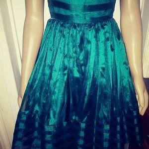 Betsey Johnson Dresses - Betsy Johnson Green Party Dress