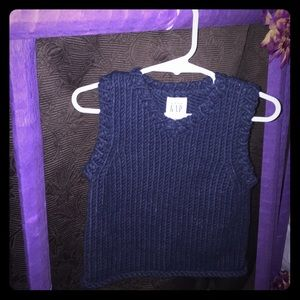 🌼GAP BABY🌼 navy blue wool vest