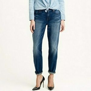 J. Crew Broken in Boyfriend Denim Jeans 28