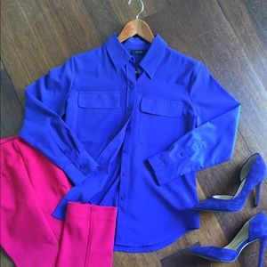Apt. 9 Tops - Button down shirt; size PXS