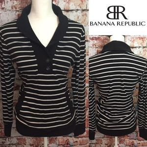 Banana Republic Tops - ••Banana Republic•• Shawl collar sweater