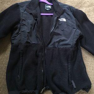 Black North Face Denali jacket