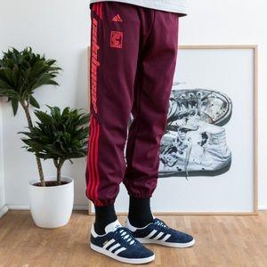 4f87294f4402 adidas Pants - Yeezy x Adidas Calabasas Track Pants Maroon