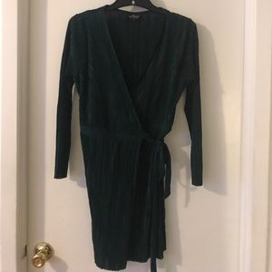 Beautiful Emerald Topshop Wrap Dress