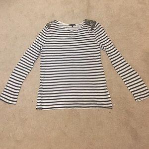 Tart Stripe Top in Size M