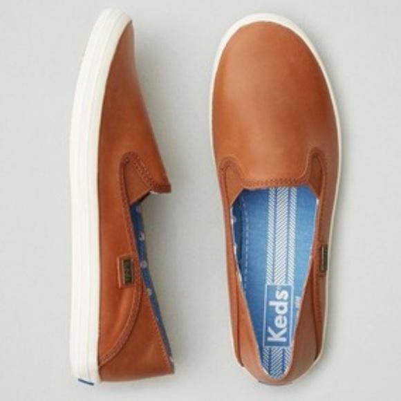 f8af591cff15d Keds Shoes - Keds Crashback slip-on sneakers in cognac leather
