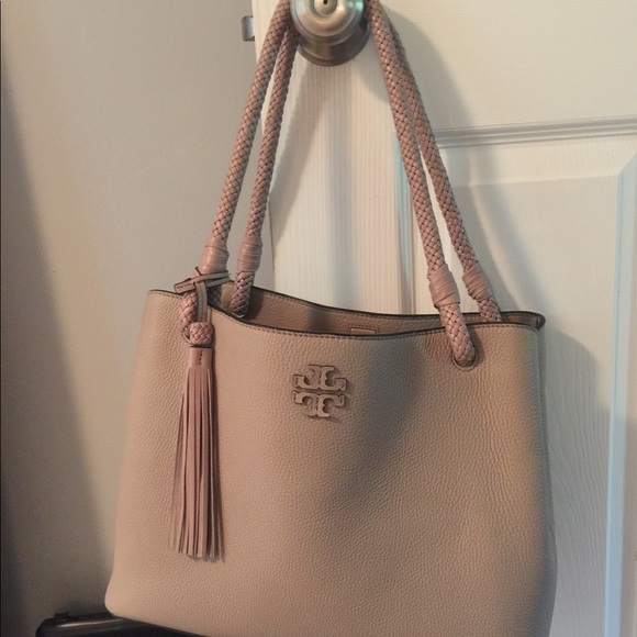 4e1e48bc660 Tory Burch Taylor TripleCompartment Tote Soft Clay.  M 59da5558f739bcef8c098dd8
