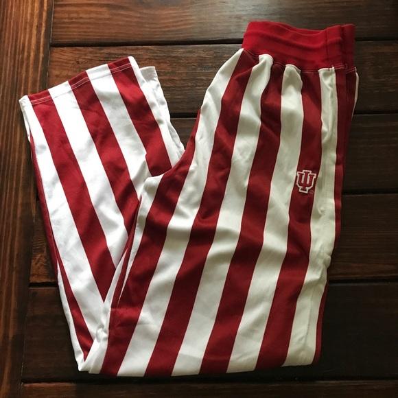 ec9d1c750e08 Iu Indiana university candy stripe pants