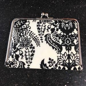 Handbags - Super cute Black and cream wallet or clutch!