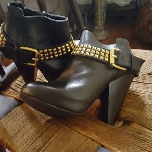 Studded Dolce Vita ankle booties 6.5