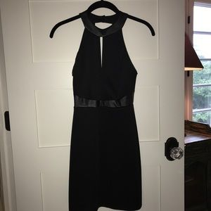 Black Bodycon Dress w/ open back. Size Small. New!