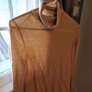 Lacoste Turtleneck Merino Extra Fine Wool - Tan