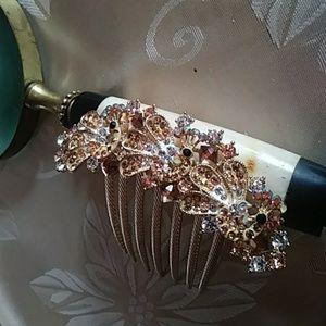 Decorative Rhinestones Hair Pins Broochehttps://ww