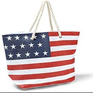 Patriotic Beach Bag/Tote Bag