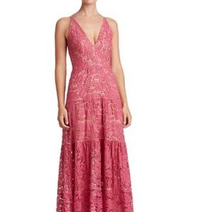 Lace Maxi Gown Dress