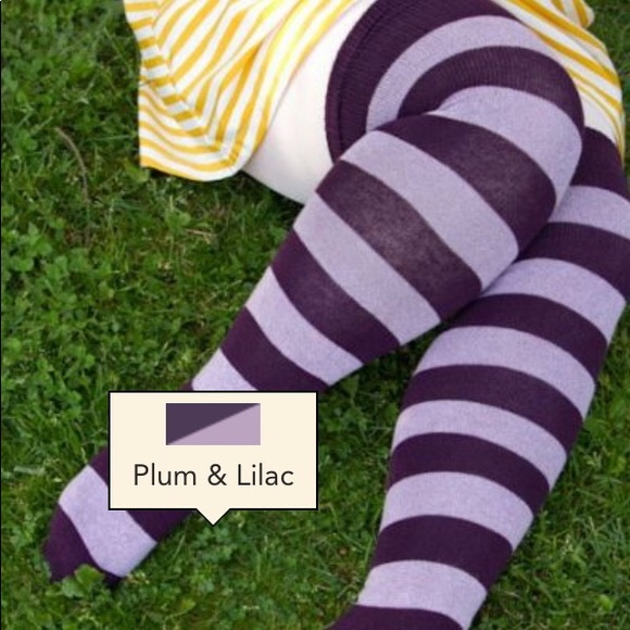62ff42c13 Sock Dreams Extraordinary Striped Thigh High Socks