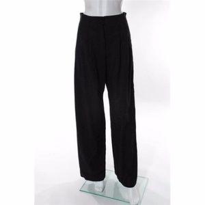 ARMANI COLLEZIONI Gray Wool Flare Dressy Pants