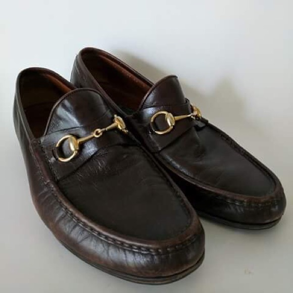 02ad52c62 Gucci Shoes | Vintage Mens Loafers Size 44 D | Poshmark