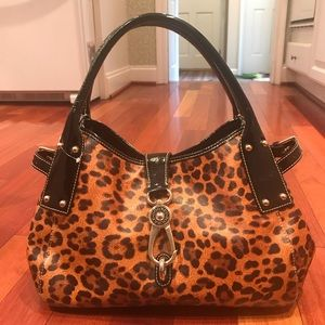 Dooney & Bourke Leopard Print Bag