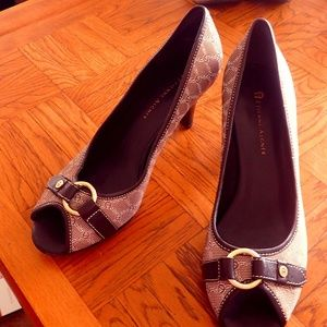 bd09ba968a5b Etienne Aigner Shoes - Etienne Aigner Signature Peep Toe Pumps