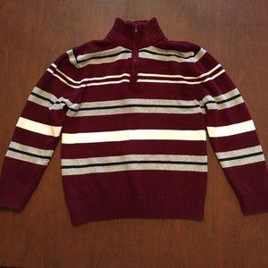 Boy's Izod half-zip sweater