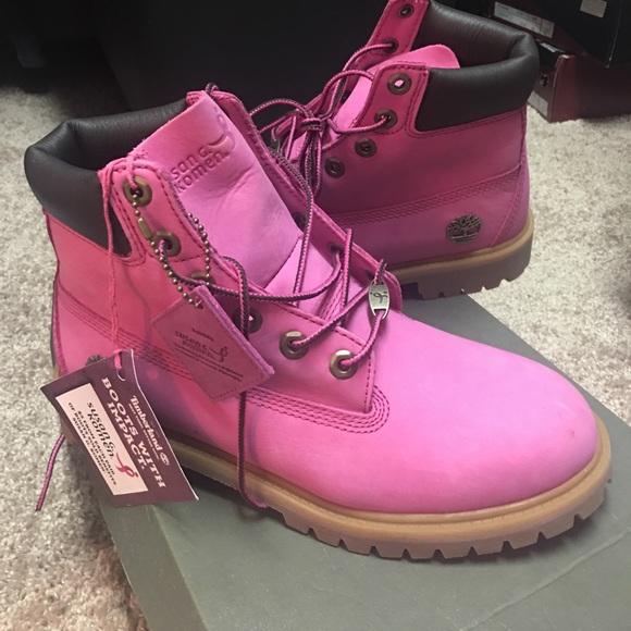 1ccfb21b7 Breast Cancer Awareness Pink Timberlands Boots. M_59da6a3d9c6fcf109809f745