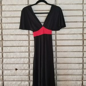 M Black and Red dress size medium