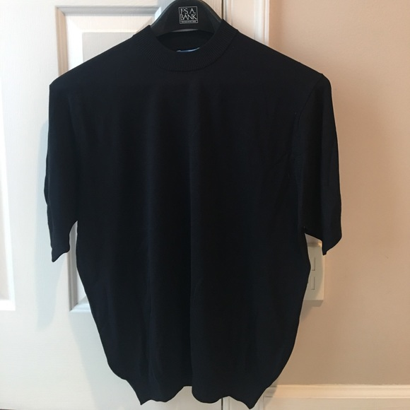 Allora Sweaters Mens Short Sleeve Mock Neck Sweater Poshmark