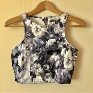 Sabo Skirt Floral Crop Top