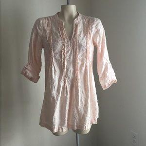 Kenar linen tunic