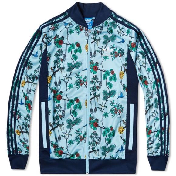 adidas (isola dei binari & cappotti originali top giacca uccelli