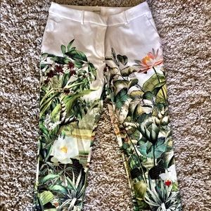 H&M Conscious Collection Rainforest Cropped Pants