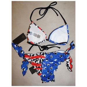 306e41b9e03 Guess Swim - SEXY American Flag Bikini Swimsuit Guess Americana