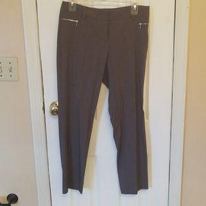 New York & Company Gray Dress Pants