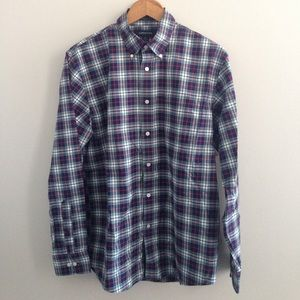 Lands' End Traditional Fit Button Down