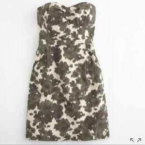 J Crew Ikat Bustier Dress