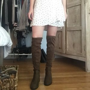 Stuart Weitzman inspired over the knee boots