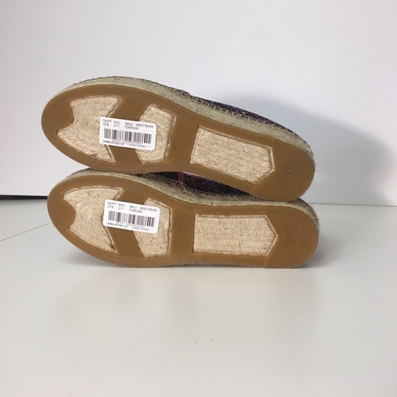 kate spade Shoes - New KATE SPADE glitter espadrilles linds too